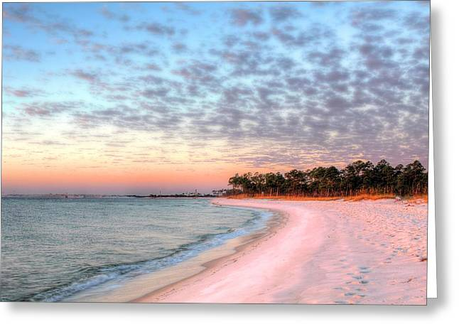 Surises Greeting Cards - The Emerald Coast Greeting Card by JC Findley