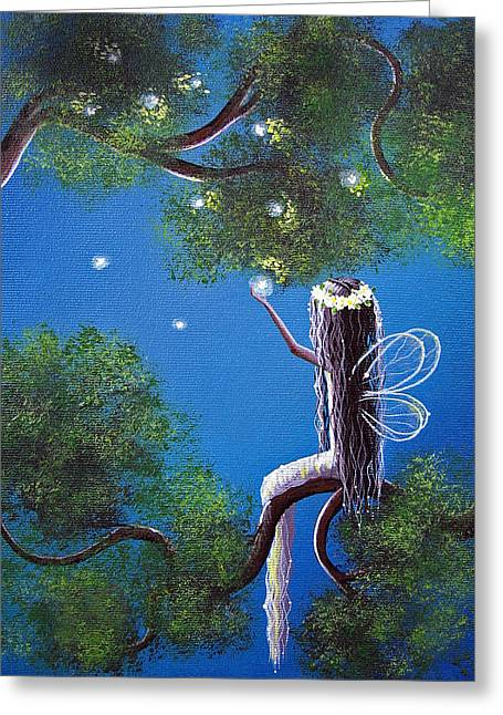 Art Product Greeting Cards - The Enchanted by Shawna Erback Greeting Card by Shawna Erback