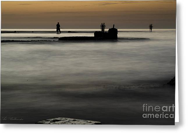 Color Photography Greeting Cards - The Enchanted Sea Greeting Card by Arik Baltinester