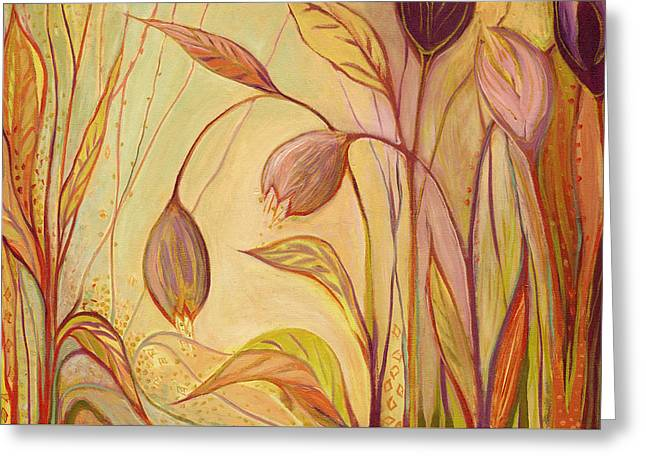 Moss Greeting Cards - The Enchantment Greeting Card by Jennifer Lommers