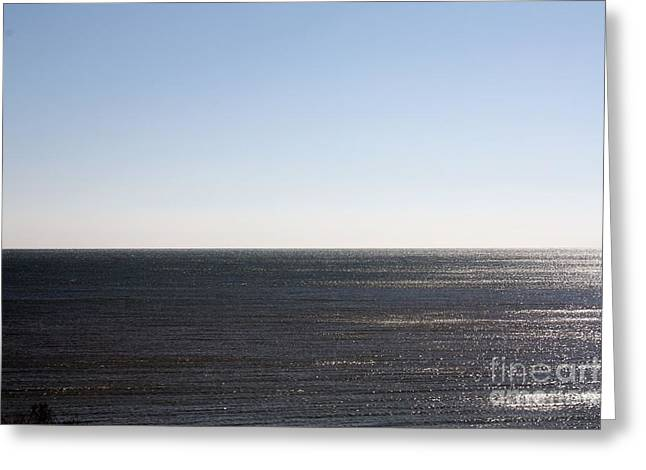 Meeting. Point Greeting Cards - The End of Long Island Greeting Card by John Telfer