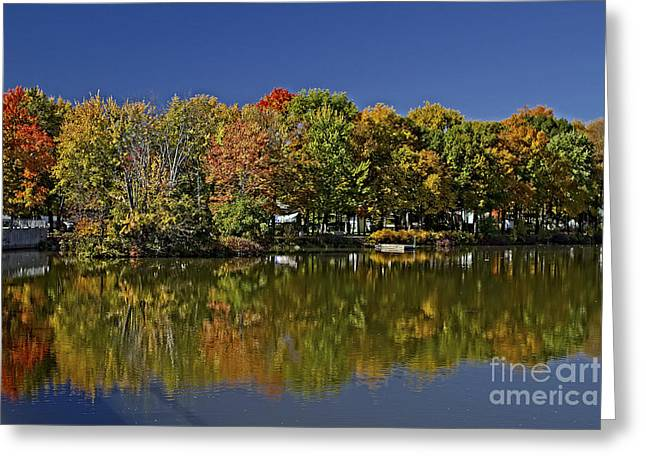 Richard Burr Greeting Cards - The End of Summer Greeting Card by Richard Burr