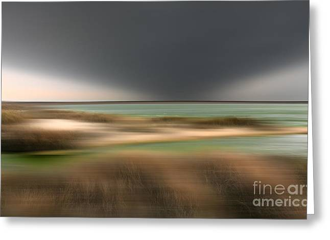 Storm Prints Greeting Cards - The End of Time - a Tranquil Moments Landscape Greeting Card by Dan Carmichael