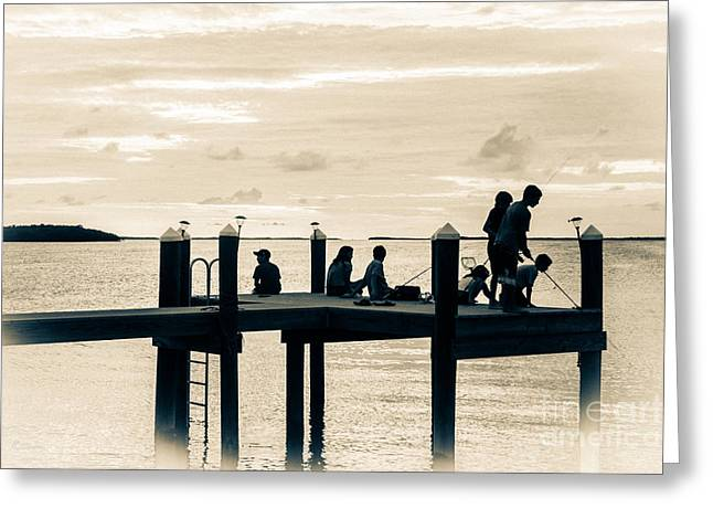 Isla Morada Greeting Cards - The Endless Summer 4 Greeting Card by Rene Triay Photography