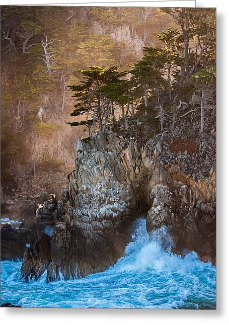 Point Lobos Greeting Cards - The Enemy at the Wall Greeting Card by W Chris Fooshee