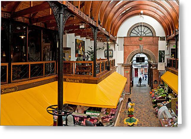Local Food Greeting Cards - The English Market Greeting Card by Luis Alvarenga