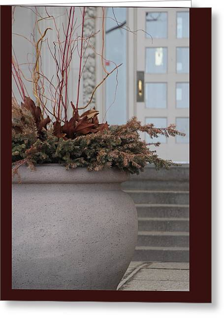 Prospects Greeting Cards - The Entry Way Greeting Card by Debbie Nobile