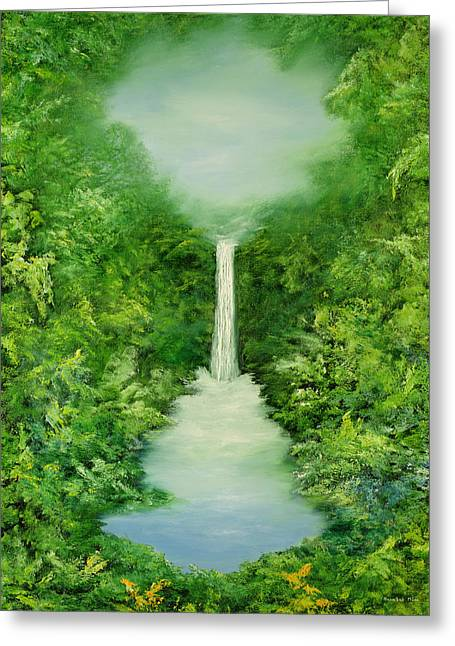 The Amazons Greeting Cards - The Everlasting Rain Forest Greeting Card by Hannibal Mane