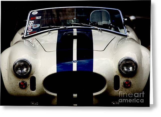 Vintage Cars Greeting Cards - The Exotic of Speed Greeting Card by Steven  Digman
