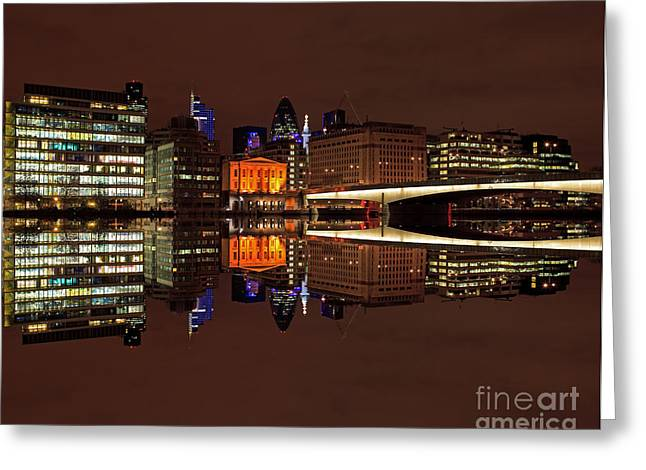Pete Reynolds Greeting Cards - The Exotic Skyline Greeting Card by Pete Reynolds