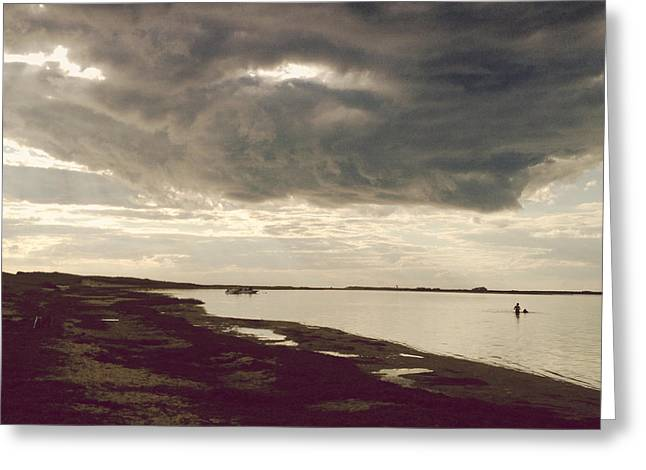Nantucket Sound Greeting Cards - The Eye in the Sky Greeting Card by Natasha Marco