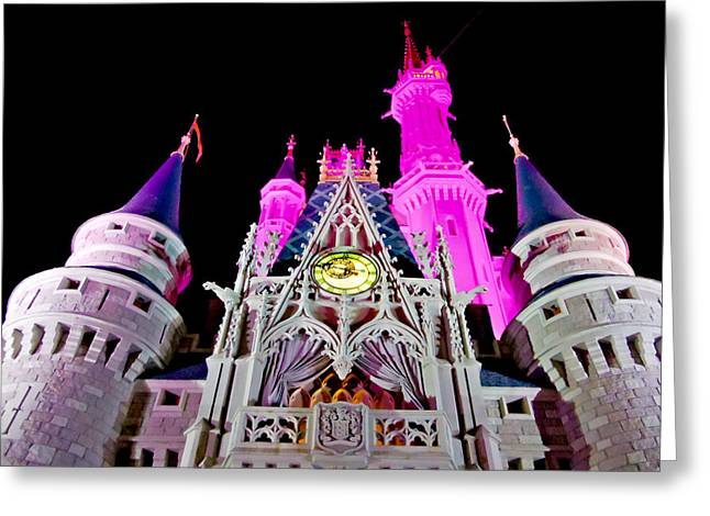 Cinderella Photographs Greeting Cards - The Face of the Castle Greeting Card by Greg Fortier