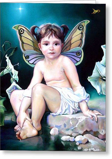 Fairies Greeting Cards - The Faerie Princess Greeting Card by Patrick Anthony Pierson
