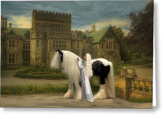Gypsy Horse Greeting Cards - The Fairest of them All Greeting Card by Fran J Scott