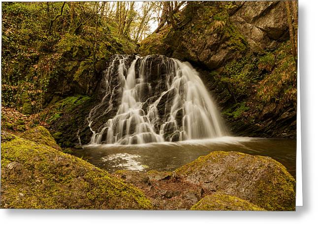 The Fairy Glen Greeting Card by Karl Normington