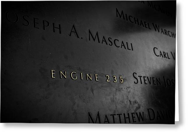 11 Wtc Greeting Cards - The Fallen  Greeting Card by Rob Dietrich