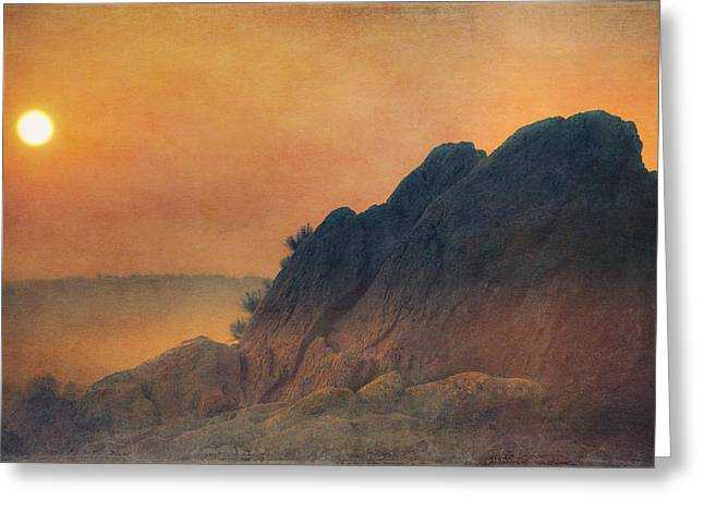 Merlin Greeting Cards - The False Lovers Rock at Sunset Greeting Card by Loriental Photography