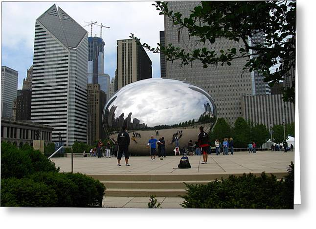 The Bean Greeting Cards - The Famous Bean Greeting Card by Steve Phillips