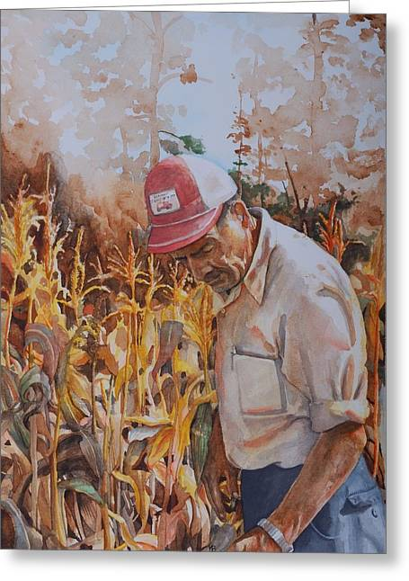 Ferme Greeting Cards - The Harvest Greeting Card by Michelle Berger