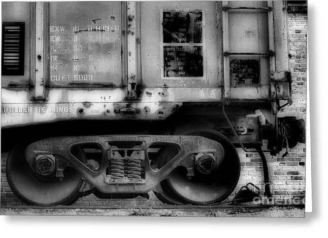 Train Rides Greeting Cards - The Feet Of Transportation Greeting Card by Skip Willits