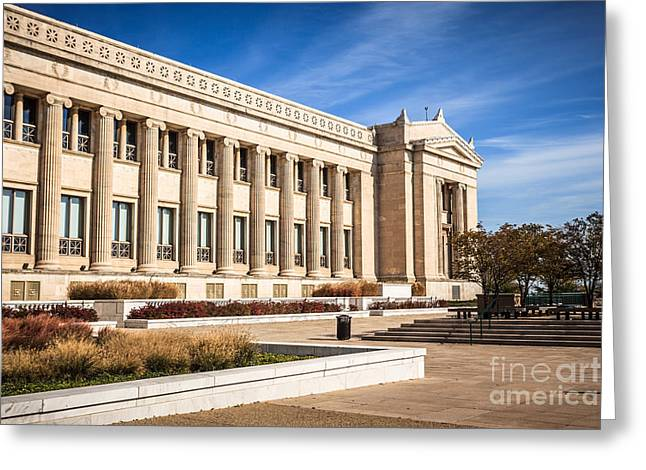 Editorial Greeting Cards - The Field Museum in Chicago Greeting Card by Paul Velgos