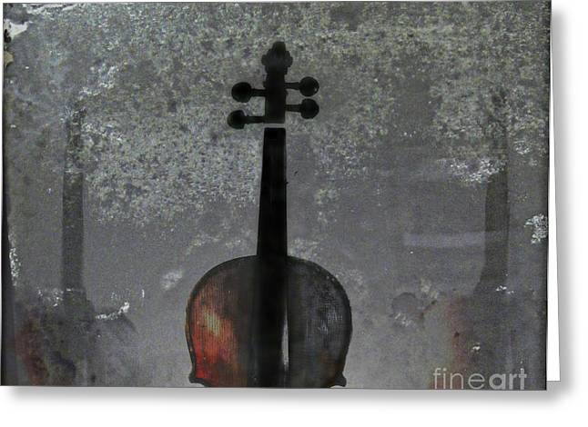 Violin Digital Greeting Cards - The Figure of Sound Greeting Card by Steven  Digman