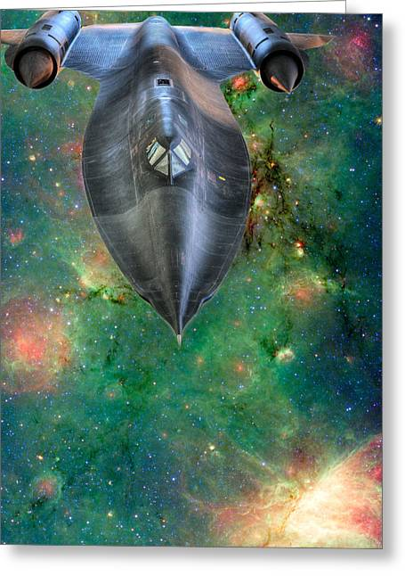 The Final Frontier Greeting Cards - The Final Frontier Greeting Card by JC Findley