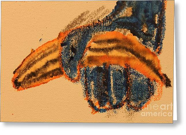 Banana Pastels Greeting Cards - The finding 1.2 Greeting Card by Nicholas Karlsson