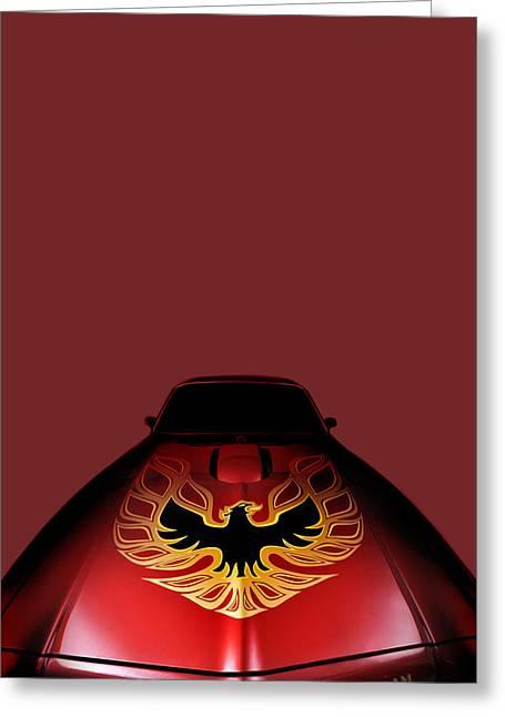 The Firebird Greeting Card by Mark Rogan