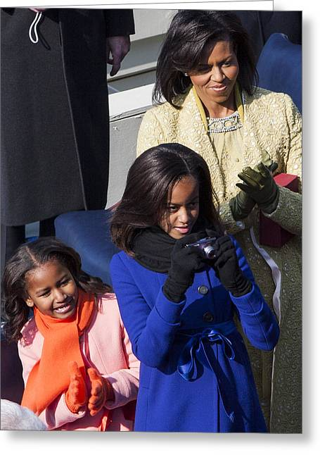 The First Family Greeting Card by JP Tripp