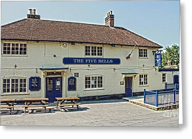 Terri Waters Greeting Cards - The Five Bells Nether Wallop Greeting Card by Terri  Waters