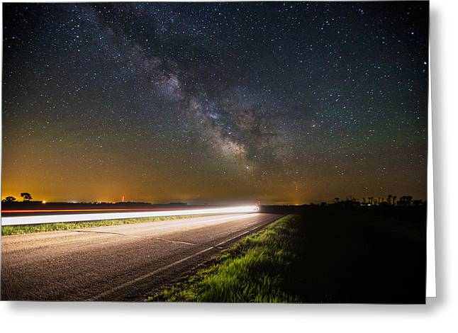 Flash Greeting Cards - The Flash Greeting Card by Aaron J Groen