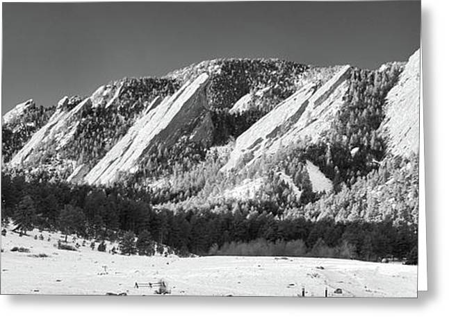 Guy Whiteley Photography Greeting Cards - The Flatirons Greeting Card by Guy Whiteley