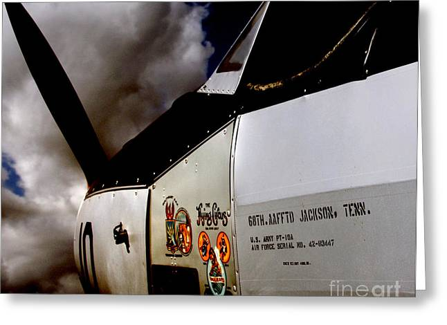 Military Airplanes Greeting Cards - The Flying Circus - 1943 Greeting Card by Steven  Digman