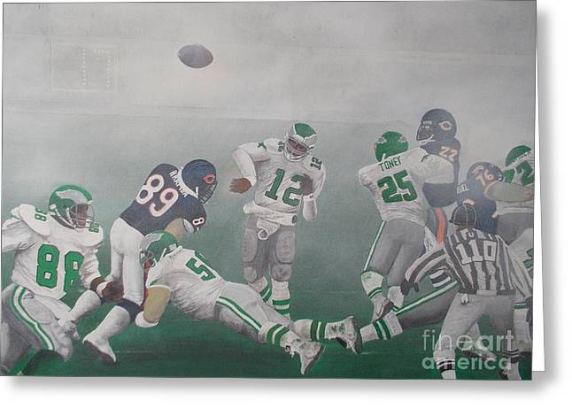 Divisional Greeting Cards - The Fog Bowl Greeting Card by Mark Richardson