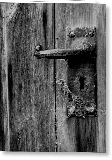 The Foreman's Door Greeting Card by Brainwave Pictures