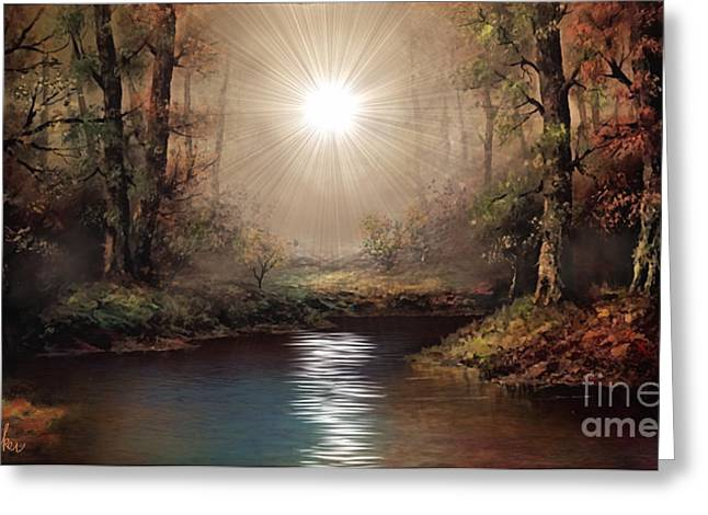 My Ocean Greeting Cards - The Forest Greeting Card by Michael Rucker