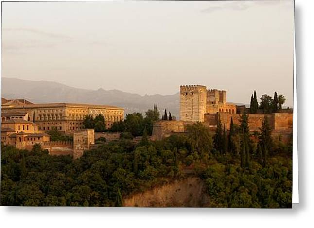 The Fortress on the Hill Greeting Card by Mountain Dreams