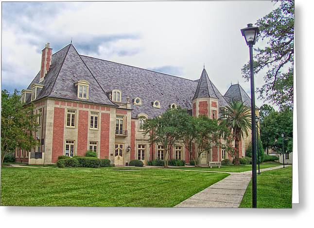 Lsu Campus Greeting Cards - The French House on the Campus of LSU Greeting Card by Mountain Dreams