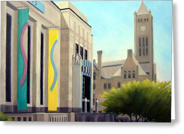 Art Museum In Nashville Tennessee Greeting Cards - The Frist Center Greeting Card by Janet King