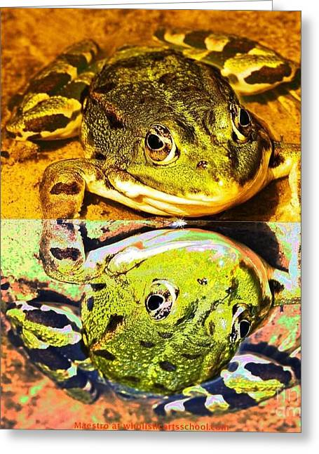 Childrens Books Digital Greeting Cards - The Frog Prince Greeting Card by Maestro