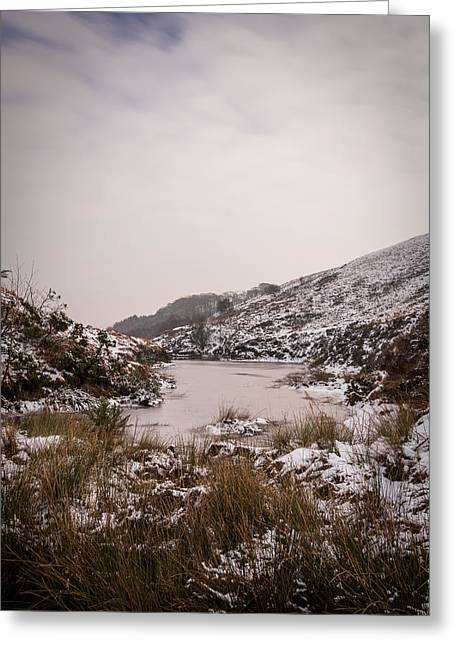 Long Exposure Greeting Cards - The Frozen Lake. Greeting Card by Daniel Kay