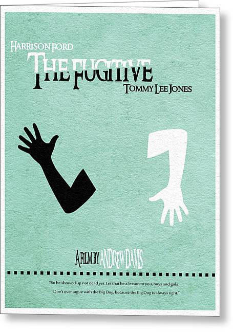 Fugitive Greeting Cards - The Fugitive Greeting Card by Ayse Deniz
