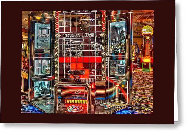 Fine Art Photography Greeting Cards - Game Room Greeting Card by Thom Zehrfeld