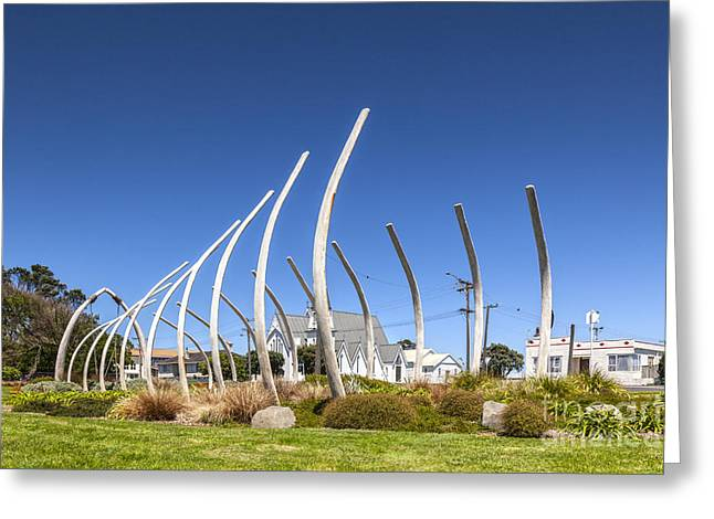 Maoris Greeting Cards - The Garden of Tutunui Patea New Zealand Greeting Card by Colin and Linda McKie