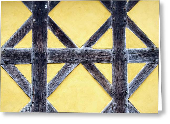 The Gate House At Stokesay Castle Greeting Card by Ashley Cooper