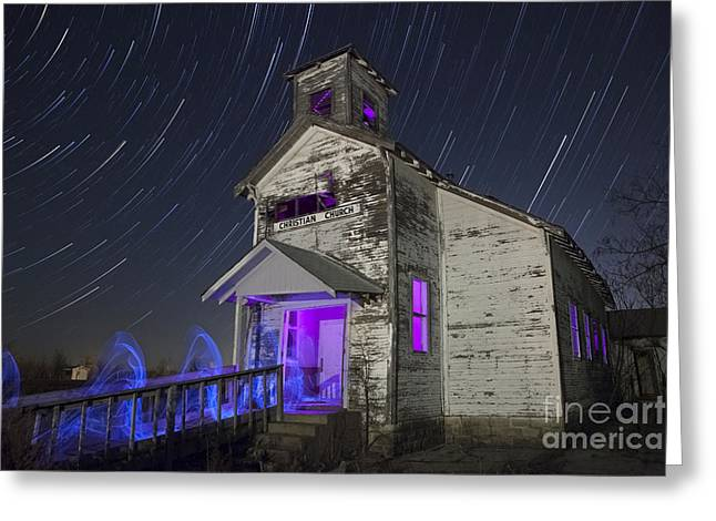 Spirituality Greeting Cards - The Gathering II Greeting Card by Keith Kapple