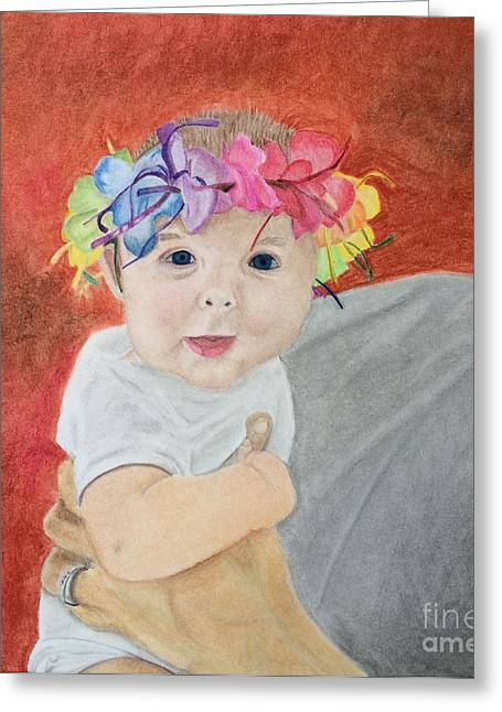 Father Pastels Greeting Cards - The Gavinator Greeting Card by Ambre Wallitsch
