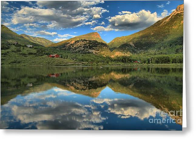 Marble Colorado Greeting Cards - The Gem Of Marble Greeting Card by Adam Jewell