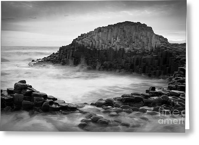 The Giant's Cove Greeting Card by Inge Johnsson
